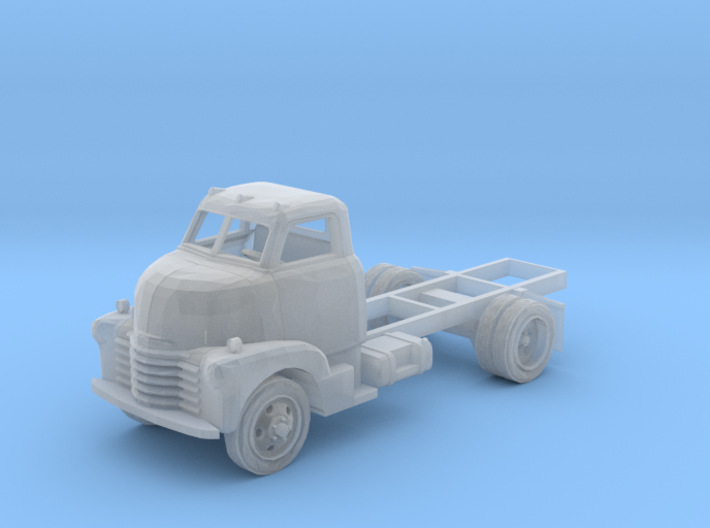 N-Scale Early '50s Chevy COE Truck 3d printed