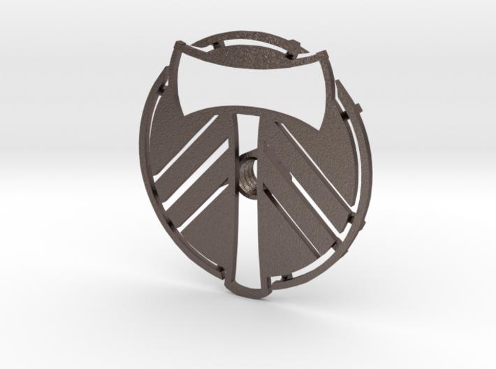 Portland Timbers Branding Iron 3d printed