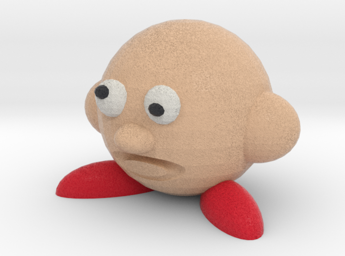 Cerby (Bootleg Parody Of Kirby) 3d printed