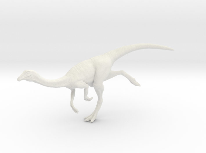 Gallimimus Pose 03 1/40th scale - DeCoster 3d printed