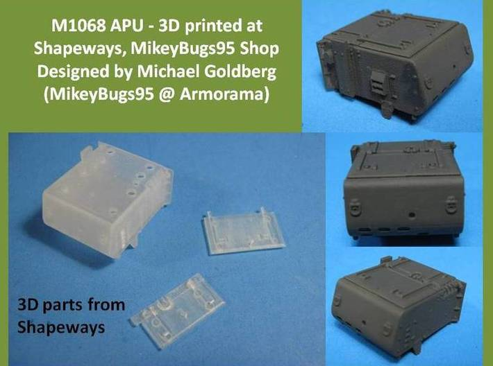 M1068 Auxiliary Power Unit MSP35-022 3d printed