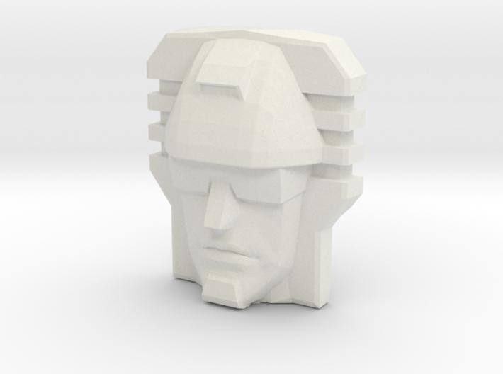 Devastator, Sunbow Face (Titans Return) 3d printed