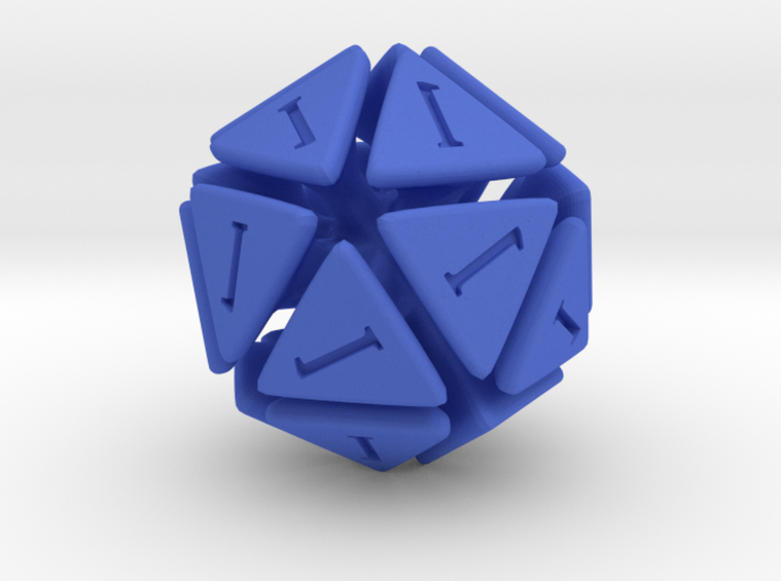 The D20 of Fail 3d printed