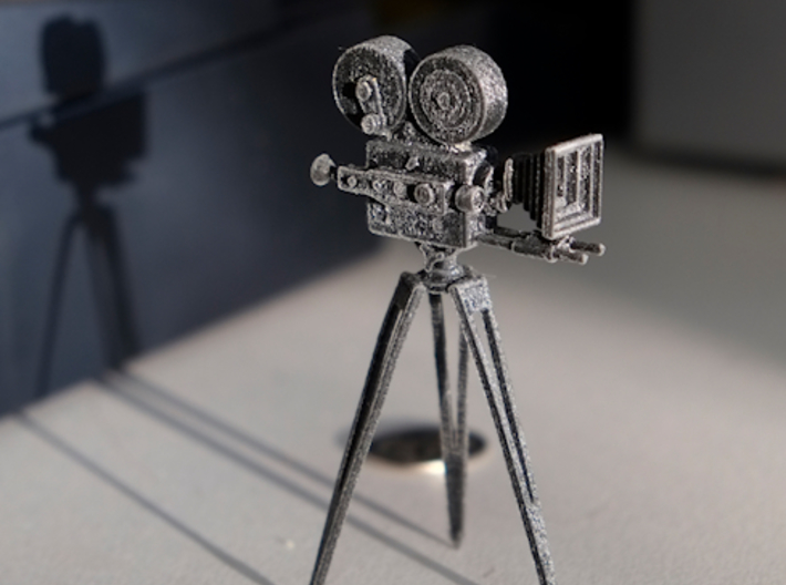 Vintage Movie Camera 3d printed Vintage Movie Camera
