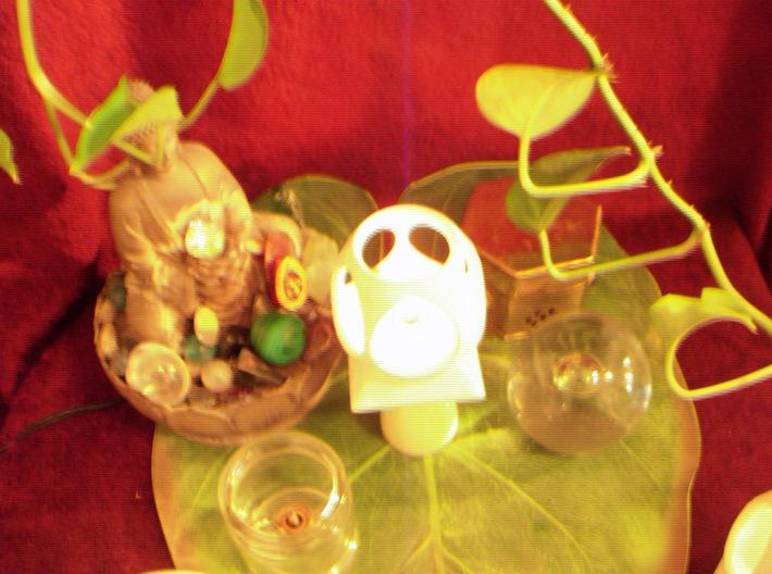 """Mystic Altar Oil Lamp """"Phi"""" 3d printed"""