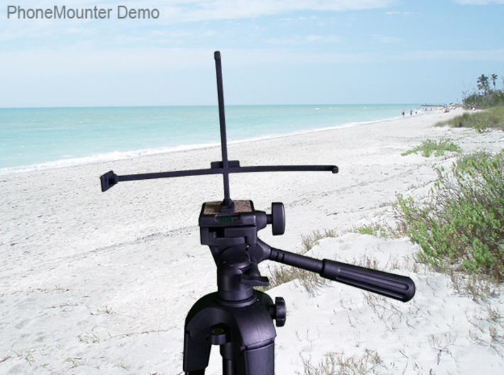 Icemobile G8 tripod & stabilizer mount 3d printed