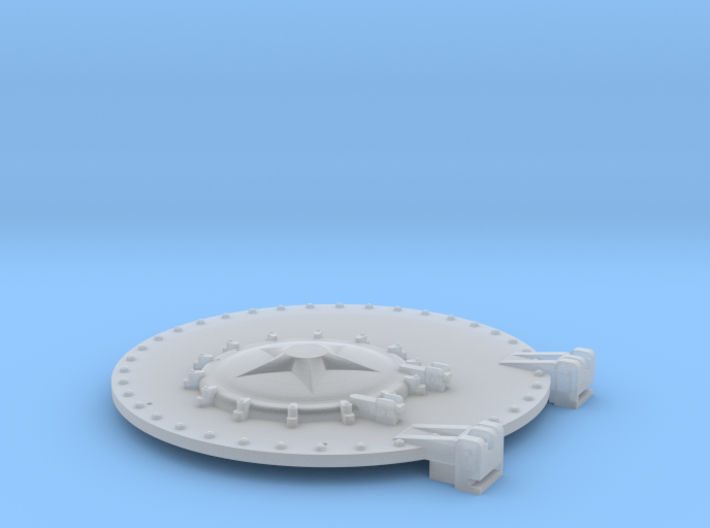 Soviet LV Class Steam Locomotive Smokebox Front 3d printed