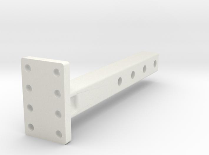 RC4WD Pintle Hook Reciever Adapter 3d printed