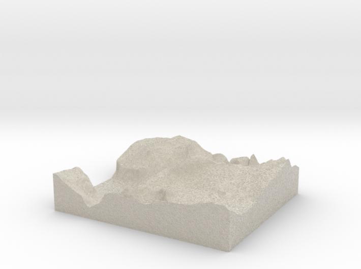 Model of Diving Board 3d printed