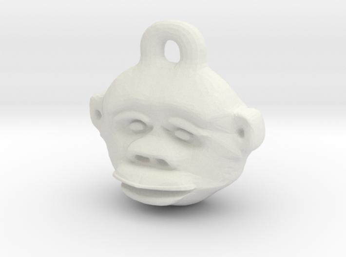 Great Ape Pendant 3d printed