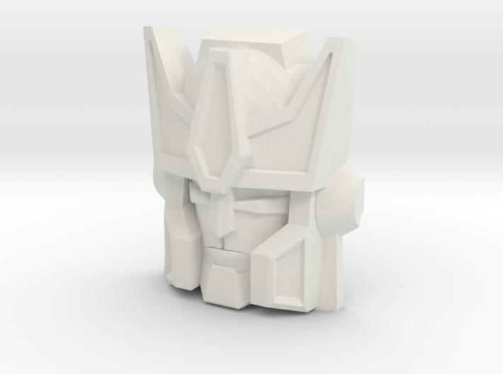 Tigatron Face (Titans Return) 3d printed