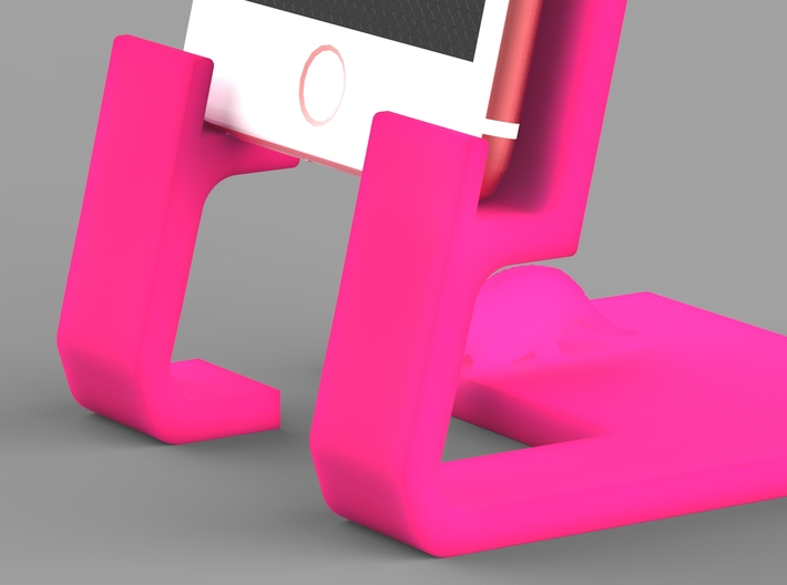 Iphone 6 plus Smartphone cradle 3d printed