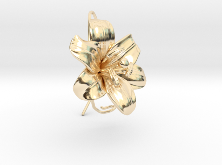 AirCharm Lily Flower - Left 3d printed