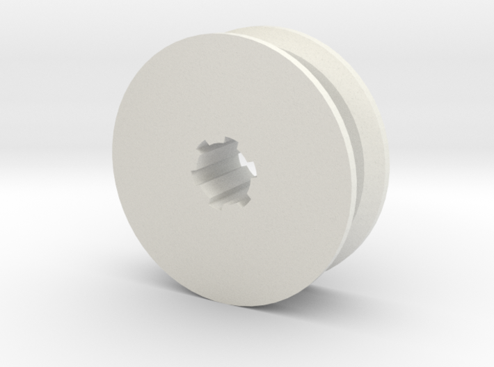 Hobby Winch Pulley 3d printed