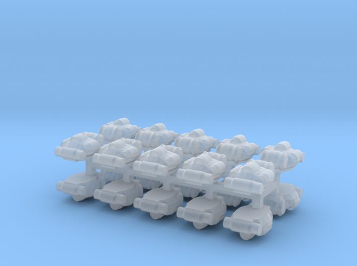 15mm Military Rucksacks (20pcs) 3d printed