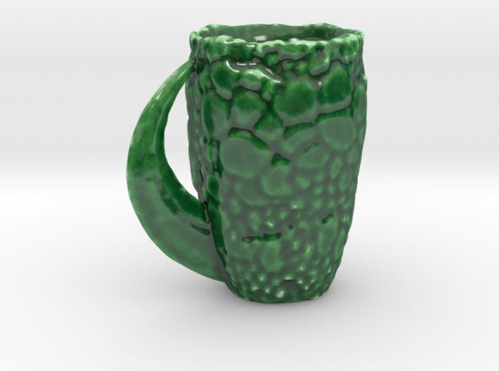 Dinosaur Skin Mug 3d printed