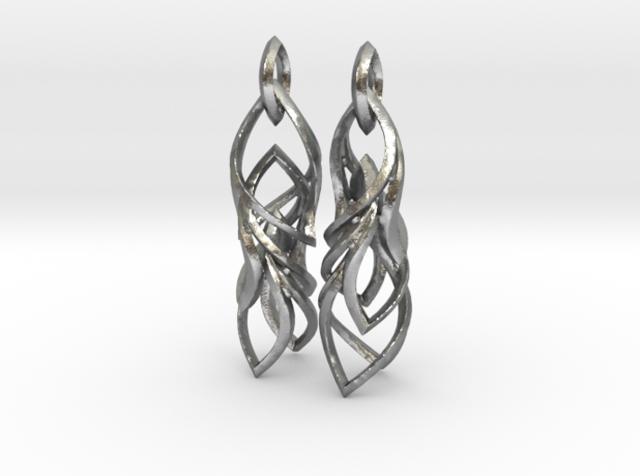 Peifeather Earrings 3d printed