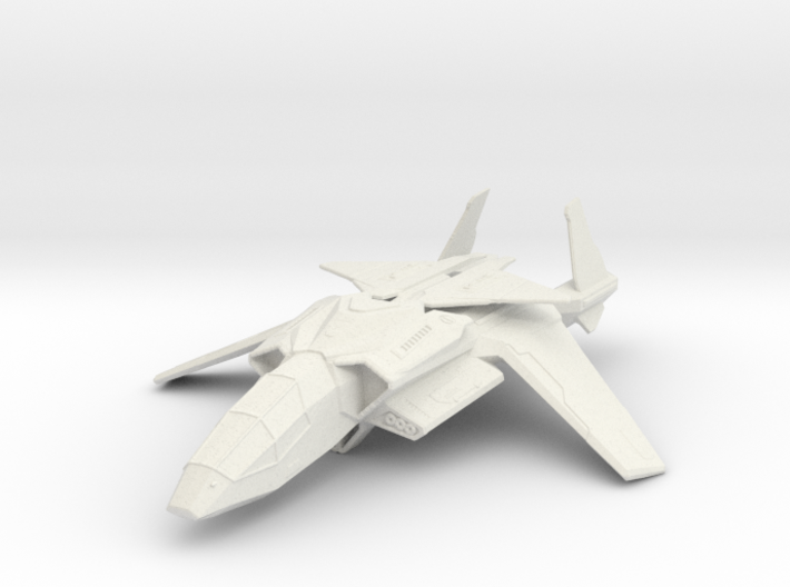 Halo UNSC Falcon Fighter 1:100 3d printed