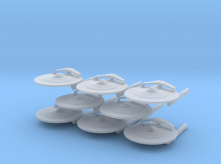 1/7000 - Cruiser Magellan v2 - 08 ships pack 3d printed