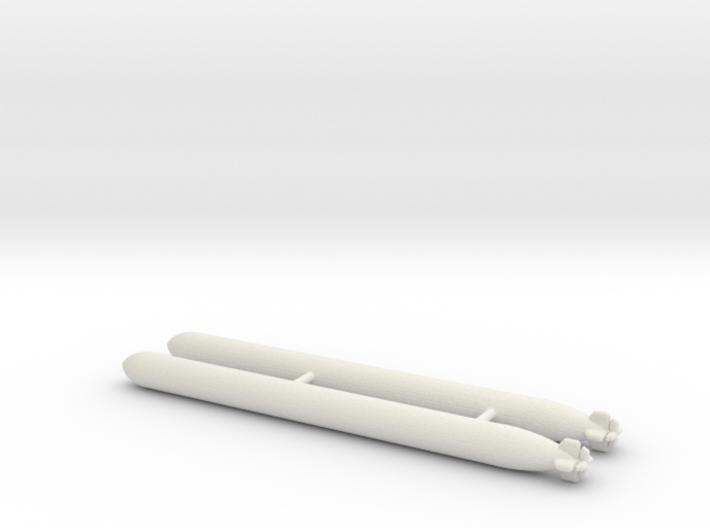 1/144 Scale Mk-15 Torpedos (2) 3d printed