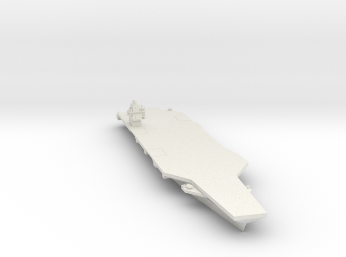 Gerald R. Ford hull 1/1250 3d printed