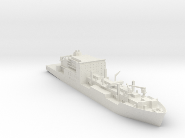 Lewis And Clark 1/700 3d printed