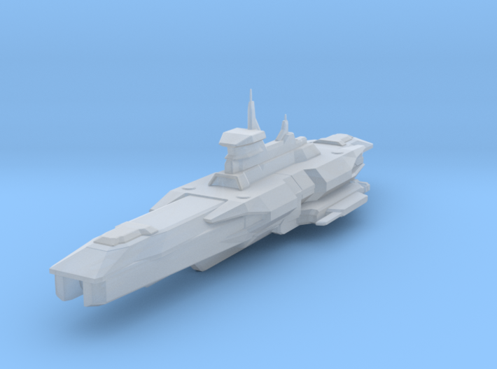 Araan Dynasty Heavy Cruiser 3d printed