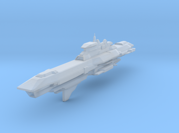 Araan Dynasty Command Cruiser 3d printed