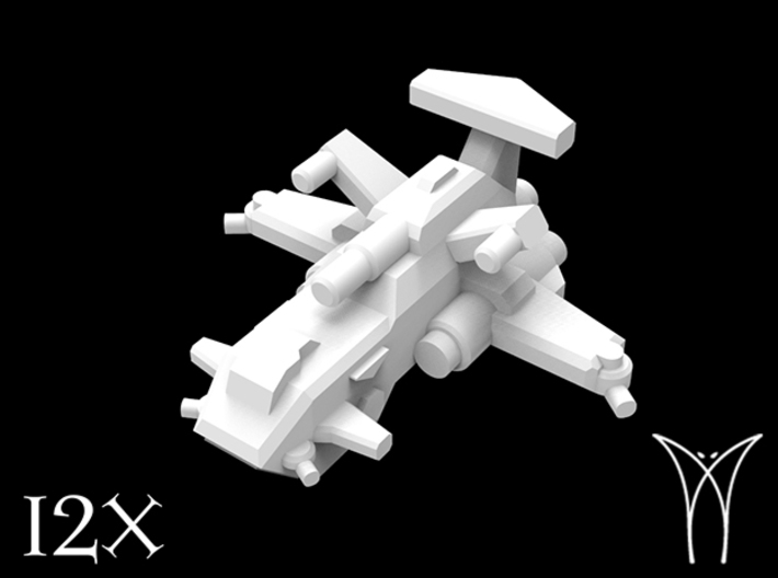 12 Thunderstrike Assault Gunships 3d printed