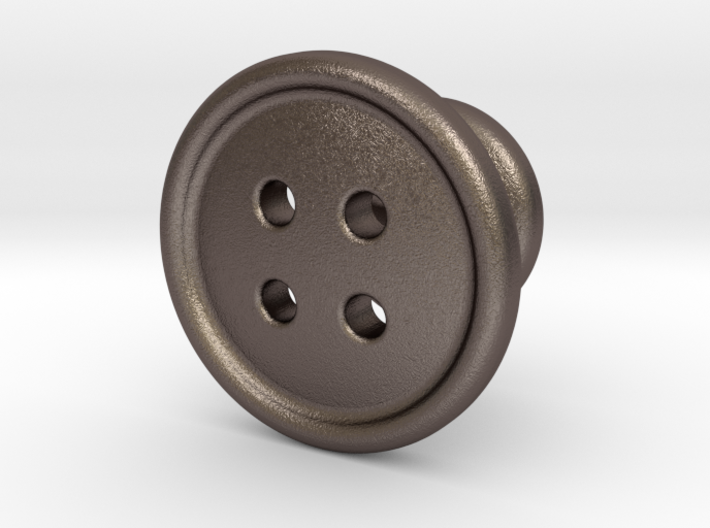 Button Tuxedo Stud - SINGLE 3d printed