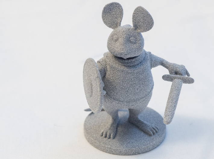 Mouse Warrior - Small Scale 3d printed