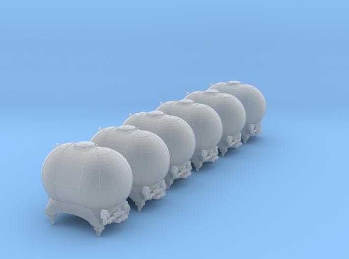 SET 6x Edzkr 571 Behälter (Roco) (N 1:160) 3d printed