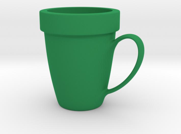 Coffee mug #9 XL - Super Mario warp pipe 3d printed