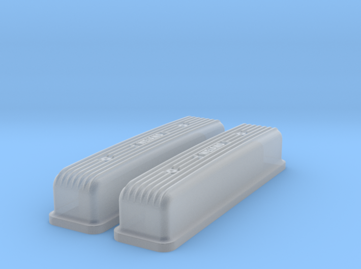1/24 Buick Nailhead Weiand Valve Covers 3d printed