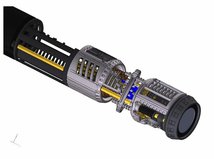 Graflex Master Chassis - Part 5/5 var1 - CC 2 3d printed