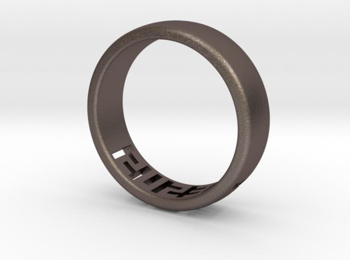 Jesus Ring 3d printed
