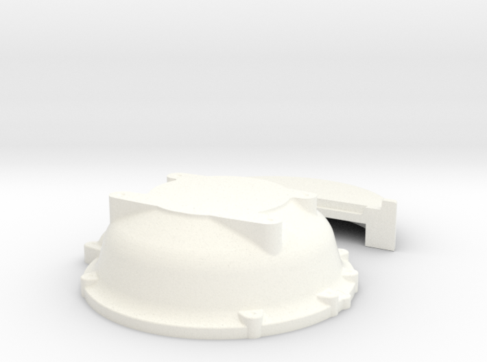 1/18 Buick Nailhead Bellhousing For Muncie Trans 3d printed