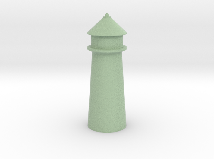 Lighthouse Pastel Green 3d printed Lighthouse Pastel Green