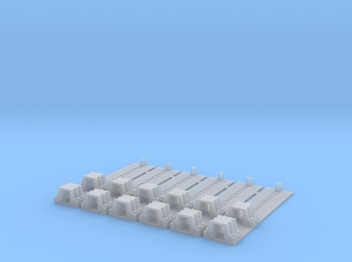 Erie Transfer Bridge Toggle Pocket Assembly - 1/87 3d printed