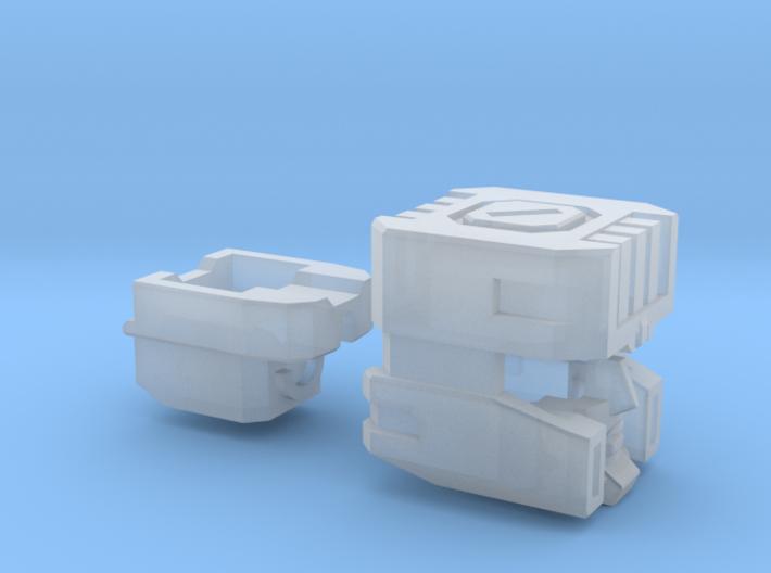 Full Throttle Head G1/IDW for Box Set 3d printed