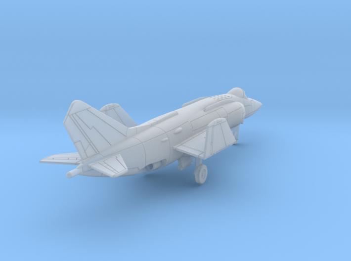 010F Yak-38 1/400 3d printed