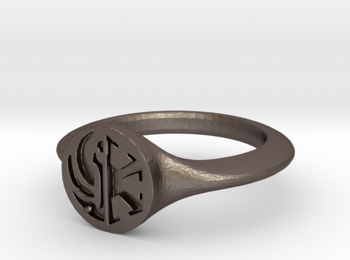 Star Wars the Old Republic crest Ring 3d printed