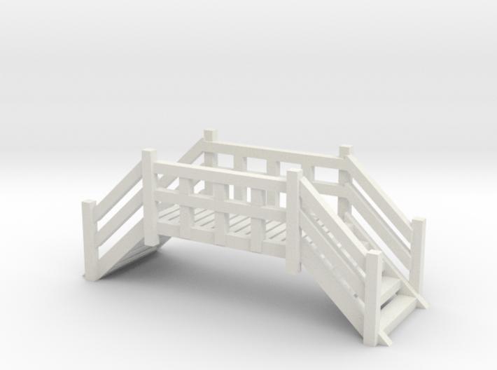 Fußgängerbrücke (N 1:160) 3d printed