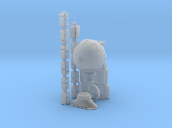 12 Inch 2001: A Space Odyssey Discovery One 3d printed