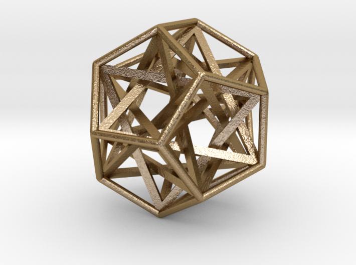 Interlocking Tetrahedrons Dodecahedron 3d printed