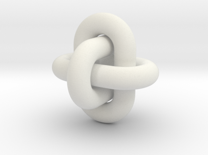Borromean Rings 12 13 2014 3d printed