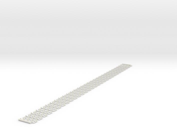 Banking strips - 1250 mm (N 1:160) 3d printed