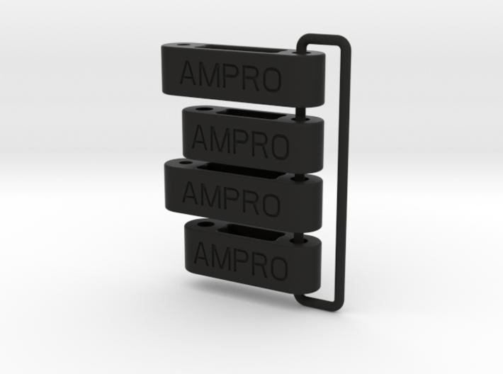 058002-02 Ampro ORV  H2 & H3 Front Arms, external  3d printed