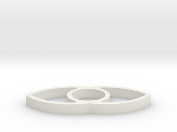 Bilateral Spinner 3d printed