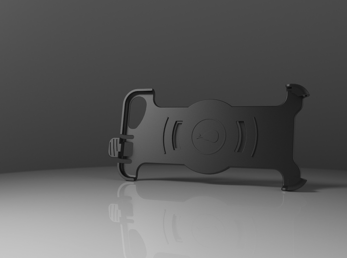 Holder for iPhone 6/6s/7 in Garmin Carkit 3d printed
